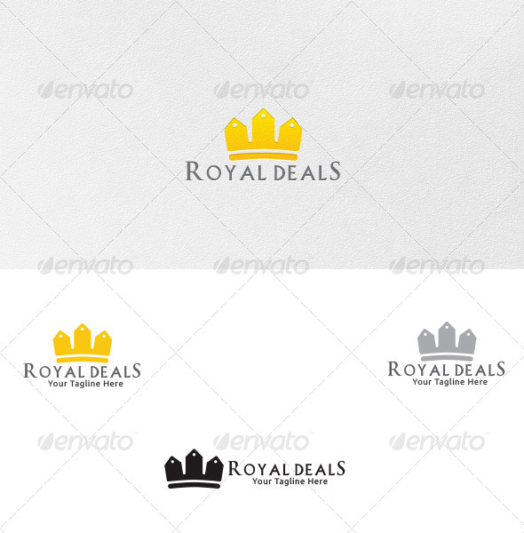 GraphicRiver Deal King Logo Template 4587165