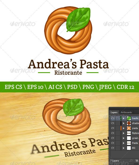 GraphicRiver Pasta Logo 4556330