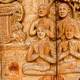 Thailand teak carved door style temple in Thailand - PhotoDune Item for Sale