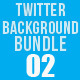 Twitter Background Bundle 02 - GraphicRiver Item for Sale