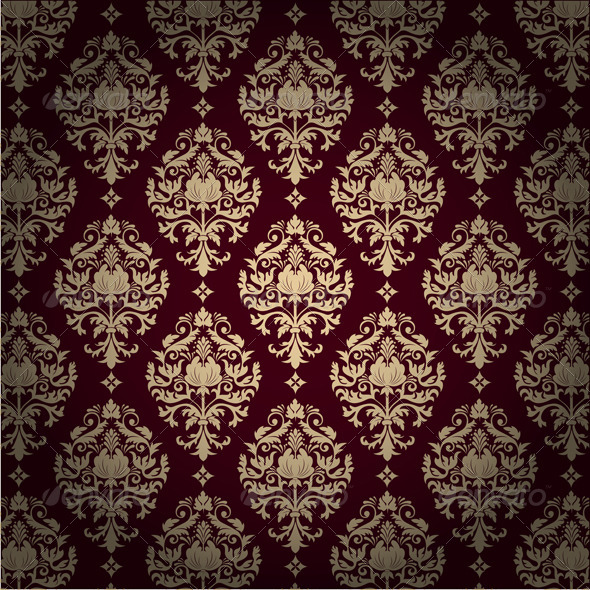 GraphicRiver Seamless Damask Pattern 4588221