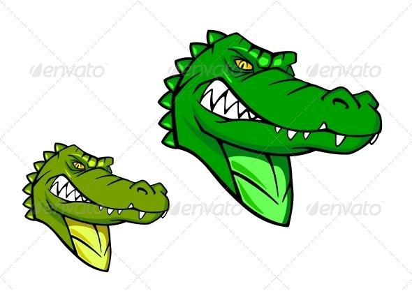 GraphicRiver Green Wild Alligator 4588260