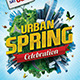 Urban Spring Flyer Template - GraphicRiver Item for Sale