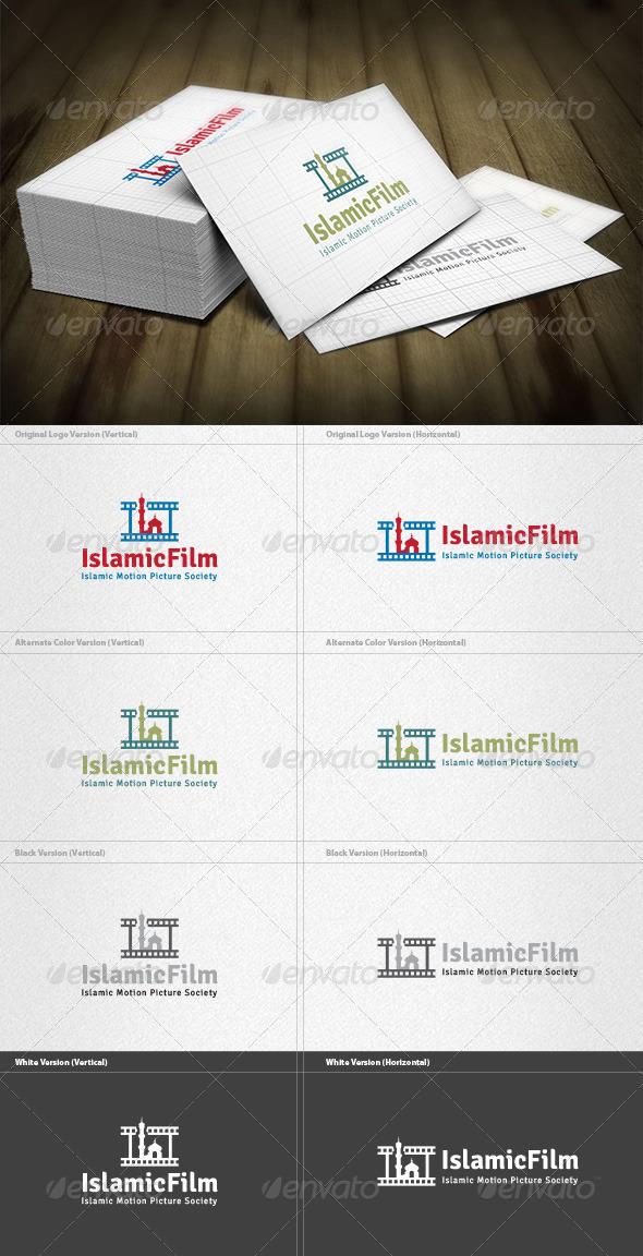 GraphicRiver Islamic Film Logo 4588662