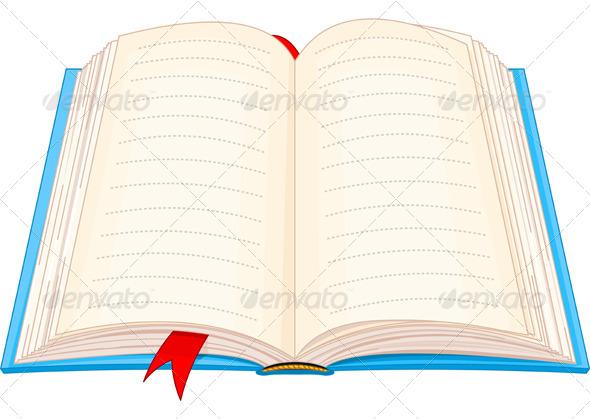 GraphicRiver Open Book 4588685