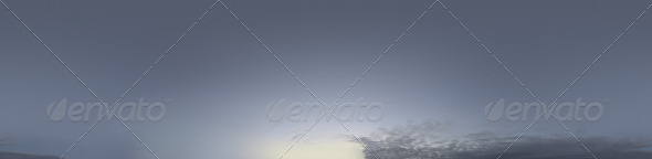 Skydome HDRI - Twilight Sky