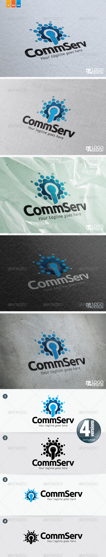 CommServ - Symbols Logo Templates