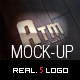 4 Photo Realistic Logo Mock-Ups - GraphicRiver Item for Sale