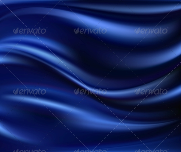 GraphicRiver Abstract Vector Texture Blue Silk 4589728