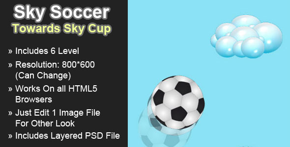 CodeCanyon Sky Soccer Toward Sky Cup 4589793