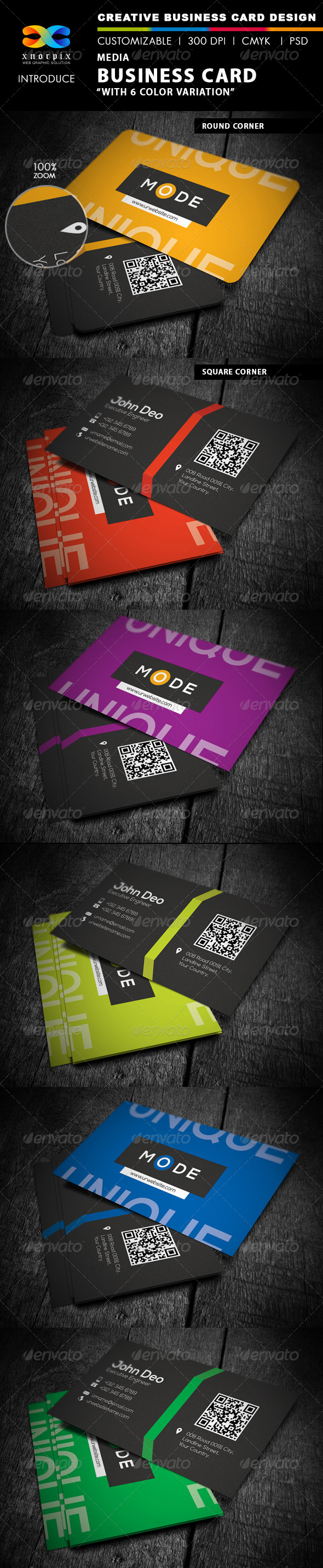 GraphicRiver Media Business Card 4507167