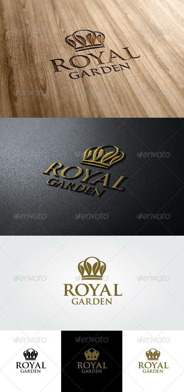 GraphicRiver Royal Garden Logo 4590370