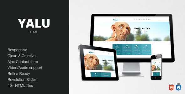 Yalu - Creative Multipurpose Template - HTML