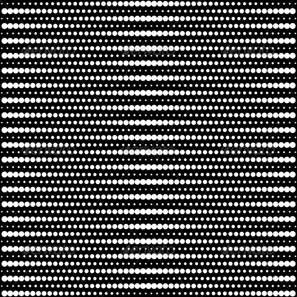 GraphicRiver Vector Halftone Dots Black And White 4590533