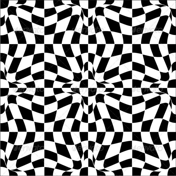 GraphicRiver Vector Pattern In Black And White 4590540