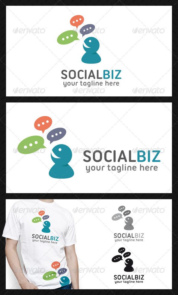 GraphicRiver Social Business Logo Template 4590541