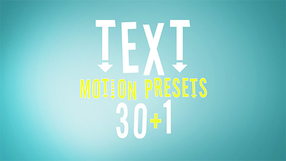 Motion Alphabet Elements Download Free After Effects