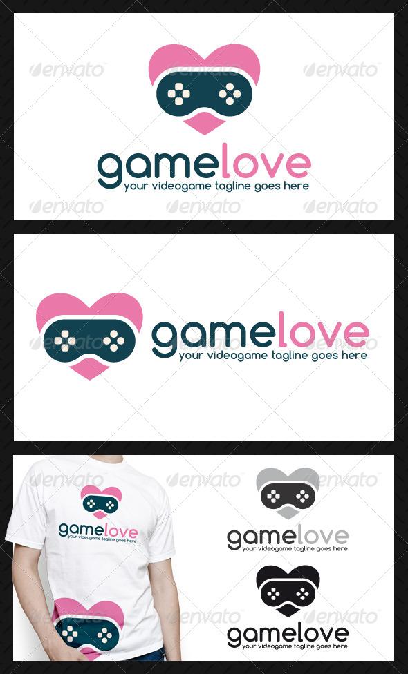 GraphicRiver Game Love Logo Template 4590813