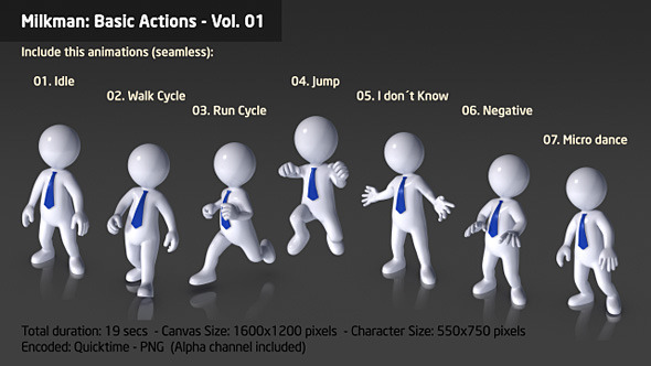 Milkman Basic Actions vol 01