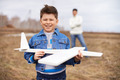 Boy with airplane - PhotoDune Item for Sale