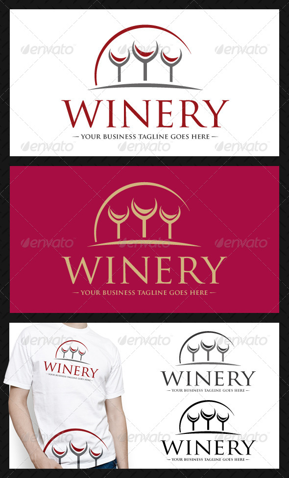 GraphicRiver Winery Logo Template 4591360