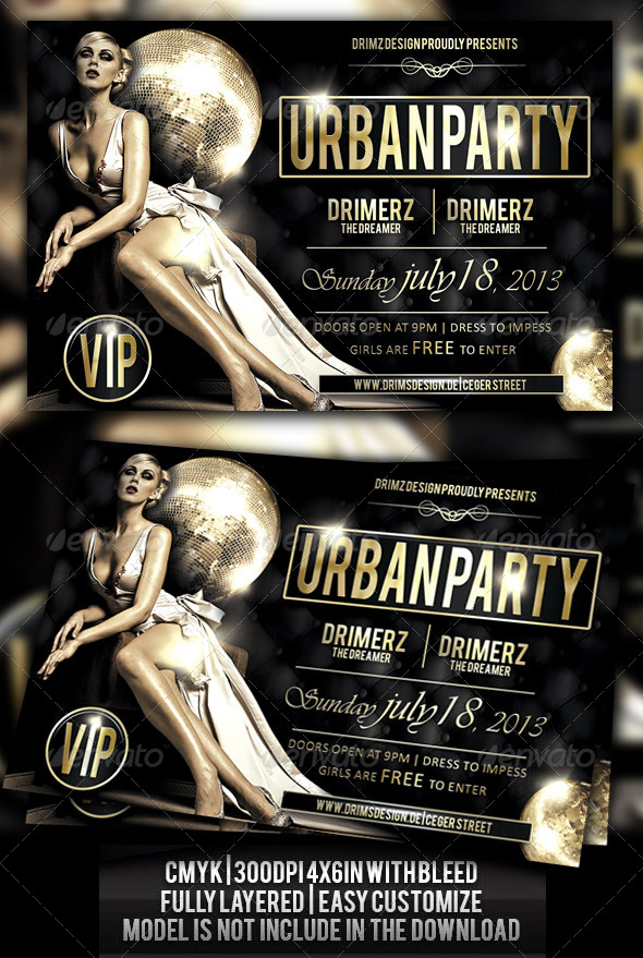 GraphicRiver Urban Night Flyer 4591595