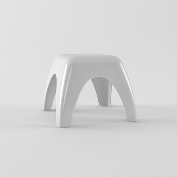 3DOcean Kids stool 4590994