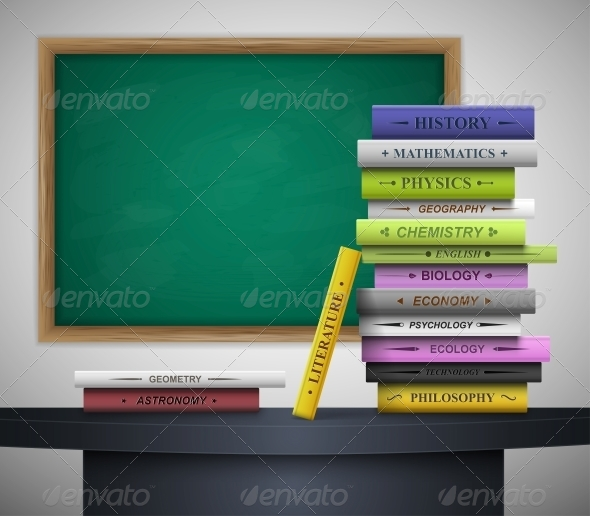 GraphicRiver Time in school 4591741