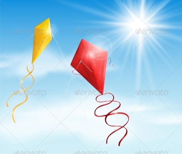 GraphicRiver Two Kite 4591753