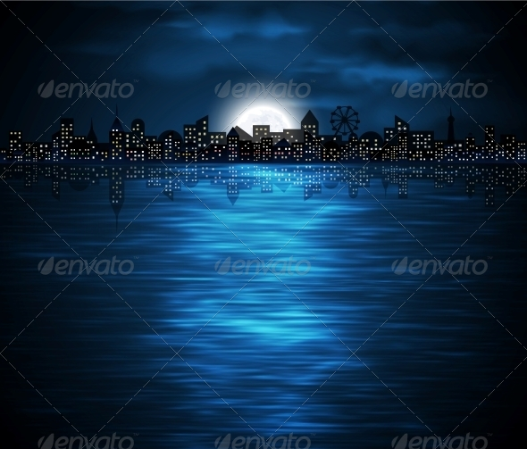 GraphicRiver Night City 4591887