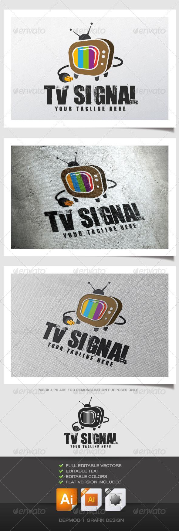 GraphicRiver TV Signal Logo 4585849