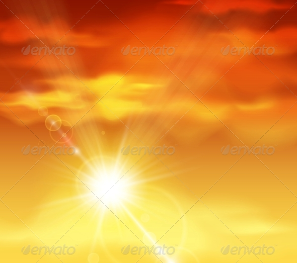 GraphicRiver Beautiful Sunset 4591919