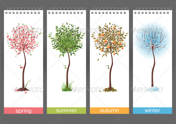 GraphicRiver 4 Seasons 4592121