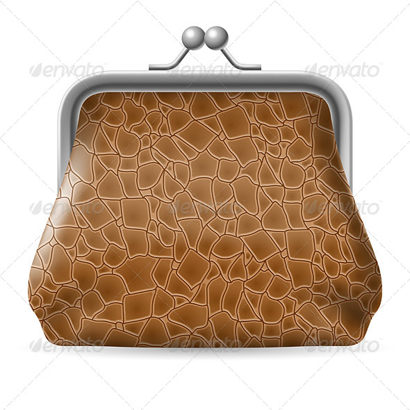 GraphicRiver Leather Purse 4592203