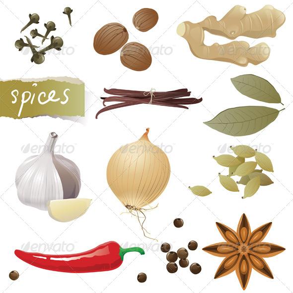 GraphicRiver Spices 4592212