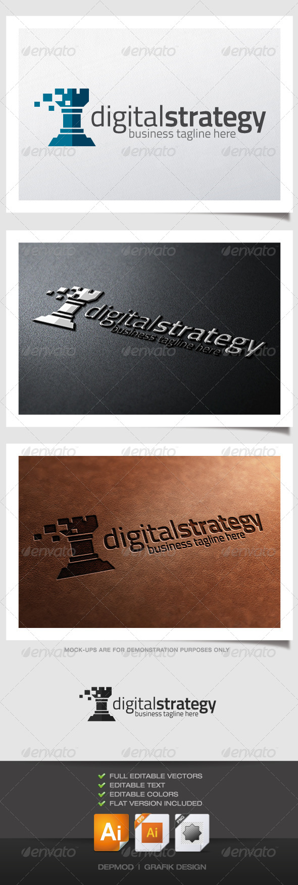 GraphicRiver Digital Strategy 4592338