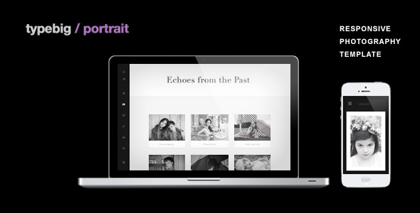 Portrait - Retina Ready Responsive Wordpress Theme