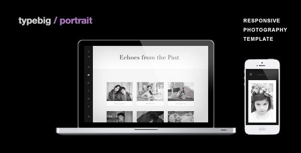 Portrait - Retina Ready Responsive Wordpress Theme