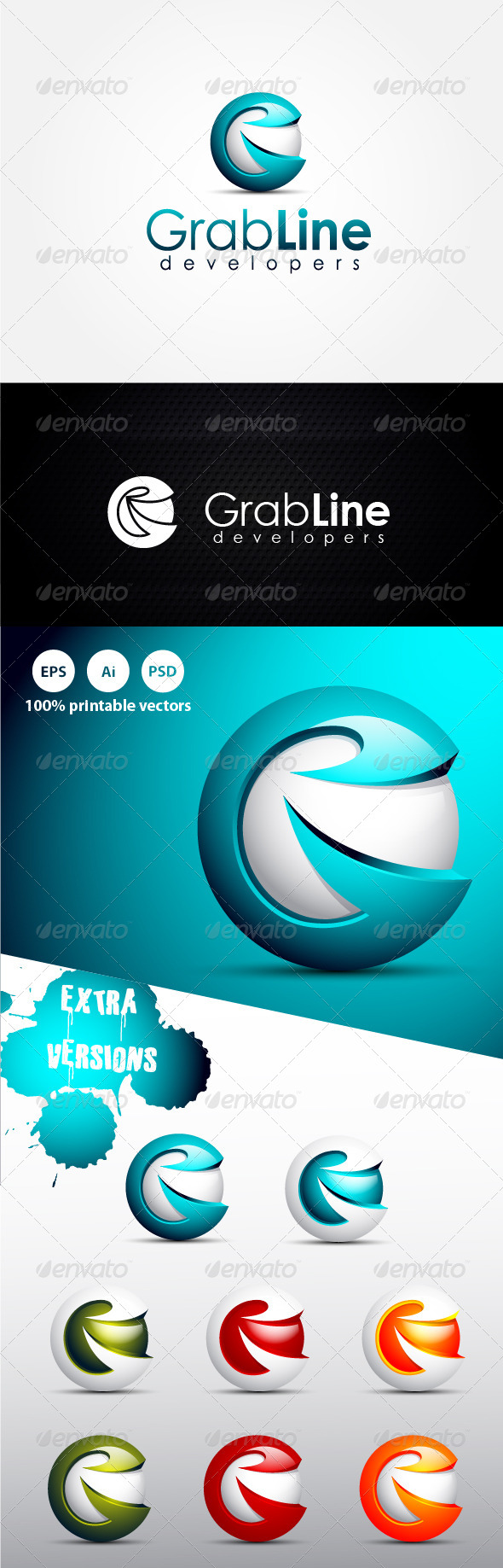 GraphicRiver Grab G Letter 4592552