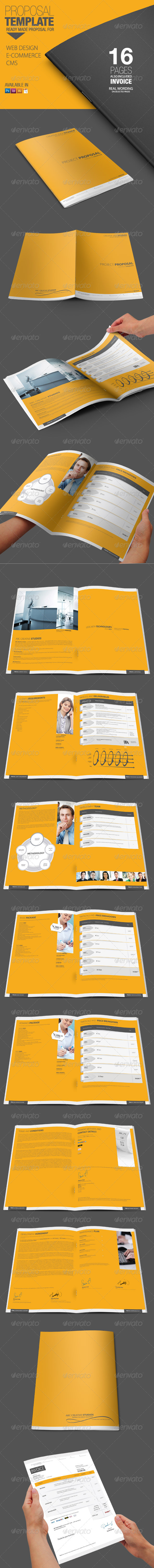 GraphicRiver Proposal Template 4592623