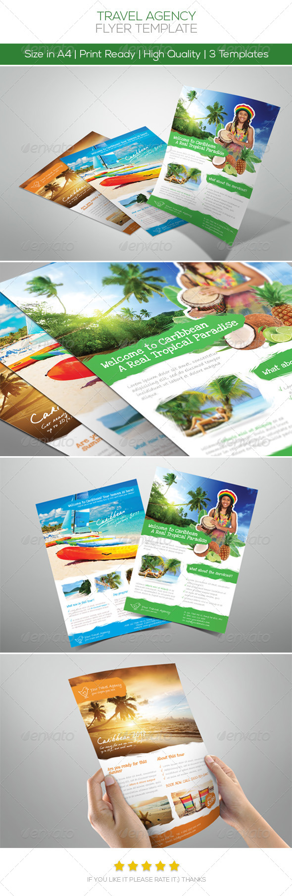 GraphicRiver Premium Travel Flyers 4592830