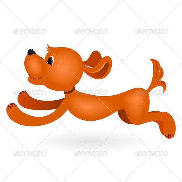GraphicRiver Cartoon Dog 4592908