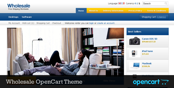 Wholesale OpenCart Theme - Wholesale OpenCart Theme