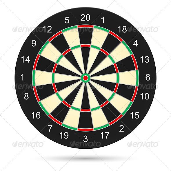 GraphicRiver Dartboard 4594125
