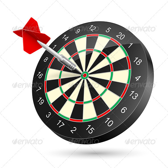 GraphicRiver Dartboard 4594127