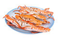 Steam food crab on dish - PhotoDune Item for Sale