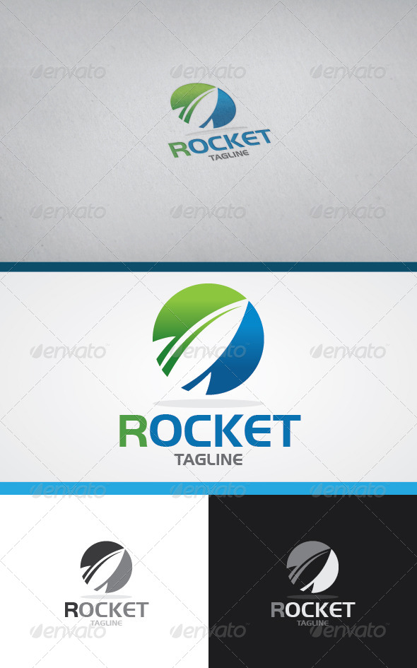 GraphicRiver Rocket Logo 4586649