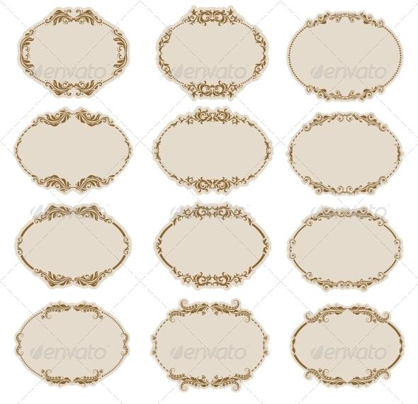 GraphicRiver Decorative Frames 4594490