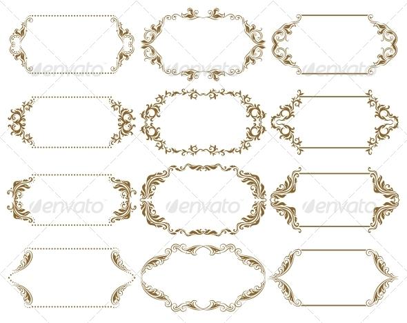 GraphicRiver Decorative Frames 4594516