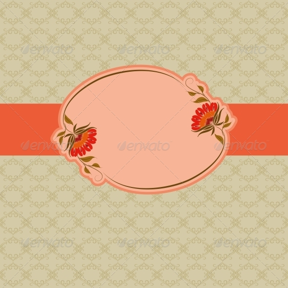 GraphicRiver Template Frame Design for Greeting Card 4594581